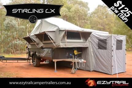 2015 Stirling LX Forward Folding Camper Trailer Lansvale Liverpool Area Preview