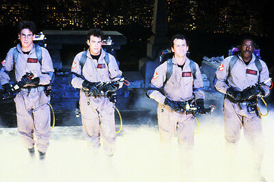 GHOSTBUSTERS COLOR 24X36 POSTER PRINT CAST IN SMOKE