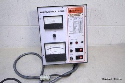 Pennwalt Jelenko Thermotrol 2500 Casting Machine Control Box