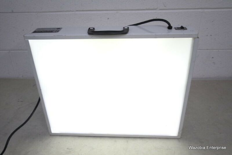 HUEY LIGHTPLATE ILLUMINATED TRACING TABLE DENTAL X-RAY FILM VIEWER