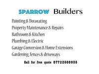 Bathrooms, Kitchens, Plumbing, Electric, Loft and Garage Conversion, House extantion