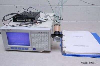 Shimadzu Scl-10a System Controller Hplc With Manual