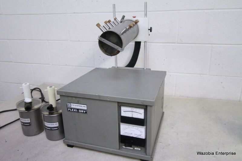 FTS SYSTEMS FLEXI-DRY FREEZE DRYER WITH STOPPERING-TAINER FDX-1-54
