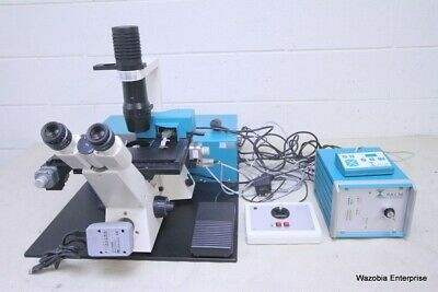 Carl Zeiss Axiovert 25 Inverted Confocal Microscope Palm Microlaser Pixelink