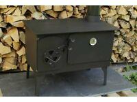 Stove wood burner with oven ! 5kw heat heating