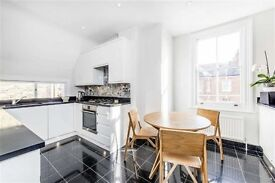 Stunning three bedroom apartment with fantastic roof terrace on Upper Tooting Park Road