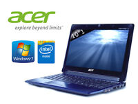 Could Deliver - Blue Acer Aspire - Windows 7 - Wireless - Office - AntiVirus - Firefox