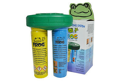 Spa Frog Complete Floating Dosing System Mineral Bromine Cartridge Hot Tub Pool