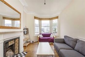 A first floor split level two double bedroom Victorian conversion flat.