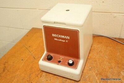 Beckman Microfuge E Centrifuge