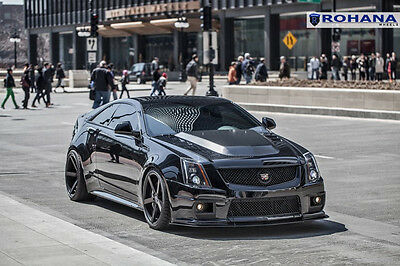 20x9 +35 20x11 +28 Rohana RC22 5x120 Black Wheel Fit Cadillac CTS-V 2012 Concave