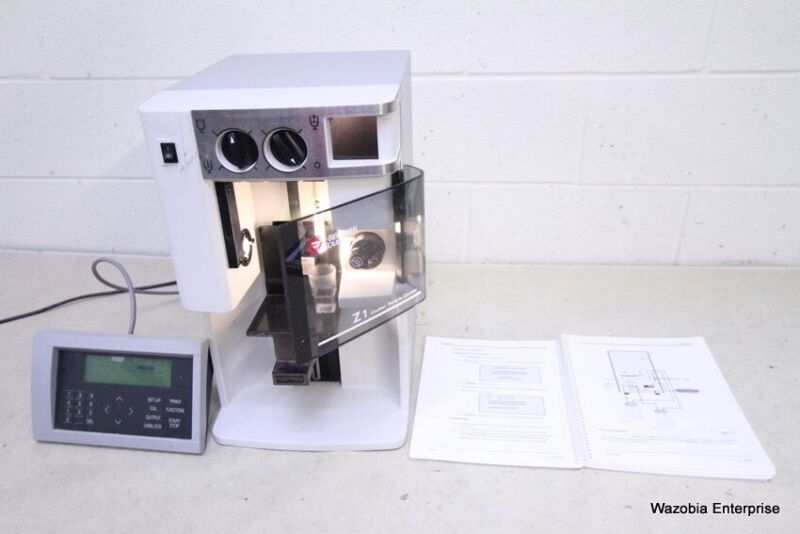 BECKMAN COULTER Z1 S Z1S PARTICLE COUNTER FOR SIZING AND COUNTING PARTICLES