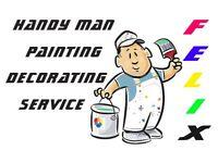 Handyman, Painting & Decorating Service