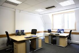 Desk space in Central London office (1-3 desks)
