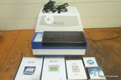Perkin Elmer Wallac Victor 3 1420-015 Multilabel Counter W Software And Manual