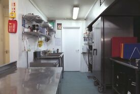 COMMERCIAL PRODUCTION KITCHENS TO RENT IN SPITALFIELDS - DAILY SHORT TERM OR LONG TERM