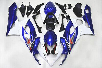 ABS Fairing Bodywork Panel Kit Set Fits Suzuki GSXR1000 k5 2005-2006 Blue
