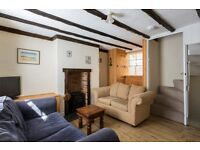 Lovely Fishermans Cottage,furnished, by the sea set in a quite court yard, 6 months let