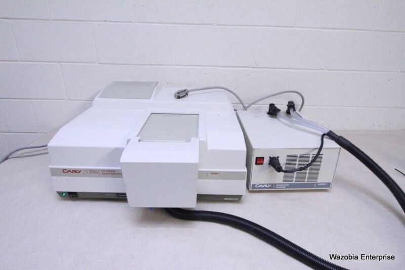 Varian Cary 1 Bio Uv Vis Visible Spectrophotometer  And Temperature Controller