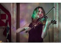 Violinist available for paid work only - Bollywood/Balkan/World Music/Middle Eastern/Improvisation