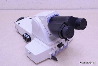 Nikon Eclipse E400 E600 Binocular Microscope Head With Y-fl Epi Fluorescence