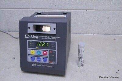 Srs Stanford Research Systems Ez-melt Automated Melting Point Apparatus