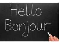 French or English Lessons - Cours de français ou anglais