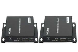 HDMI Extender Transmitter Receiver Over TCP IP via CAT5e/6 Network Ethernet Pair