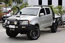 2008 Toyota Hilux Ute 4x4 SR5 Auto Turbodiesel Traytop lots extra Plenty Nillumbik Area Preview