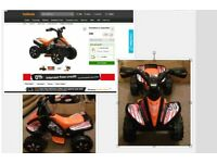 FOR SALE Halfords Roadsterz Quad Bike, Brand New Unboxed, Black, Selling for £80 in Halfords