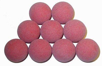Tornado Tournament Red Foosball Table Balls - Set of 9
