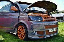Vw transporter t6&t5.1 bumpers at