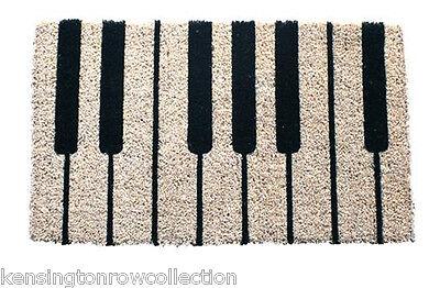 Key Door Mat - DOOR MATS - PIANO KEYS COIR DOORMAT - 18