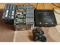 Sega saturn mega bundle +20 games