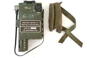 RARE AN/PRC-112 MOTOROLA SURVIVAL PILOT RADIO US ARMY USAF HANDSET AN/PRC-90 - <span itemprop='availableAtOrFrom'>Opole, Polska</span> - RARE AN/PRC-112 MOTOROLA SURVIVAL PILOT RADIO US ARMY USAF HANDSET AN/PRC-90 - Opole, Polska