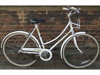 Ladies Dutch bike RALEIGH with frame 21inch Serviced warranty - Welcome for test ride & cup of tea