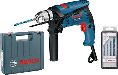 Taladro percutor Bosch GSB-13 RE 600W+ Brocas