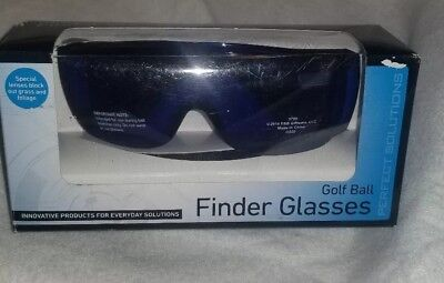 661f5ea23fa New Perfect Solutions Golf Ball Finder Blue Lens Glasses   Case with Bag  Clip