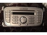 Ford 6000 Cd Stereo ( Titanium Colour) With Code *Perfect Condition * Bargain £40