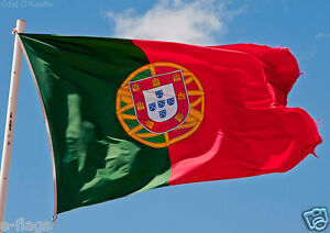 GIANT PORTUGAL PORTUGUESE NATIONAL FLAG BRAZIL BRASIL WORLD CUP