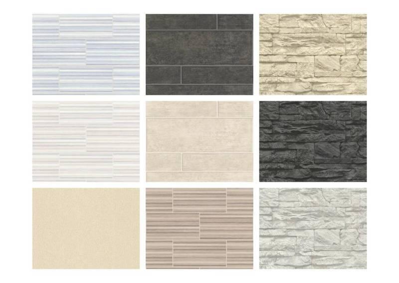 as creation murano tapete tapeten in steinoptik in. Black Bedroom Furniture Sets. Home Design Ideas