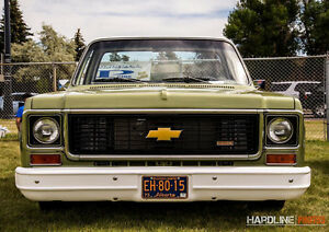 Fully restored 1973 C10 ALBERTA pick up truck