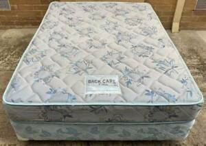 Excellent double bed mattress with double bed base for sale#3