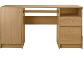 Brand new wood storage desk