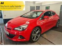 2015 Vauxhall Astra GTC LIMITED EDITION S/S HATCHBACK Petrol Manual