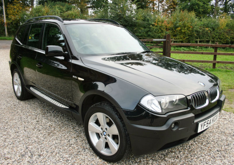 2004 54 bmw x3 sport 5 door 4x4 auto estate. Black Bedroom Furniture Sets. Home Design Ideas