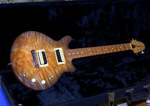 Frankinstein Exotic Wood Electric Guitar