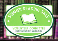 Kingston Symphony Summer Reading Sale -- May 8-10