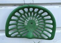 Antique Implement Seat - Sylvester Lindsay Ontario Peterborough Peterborough Area Preview