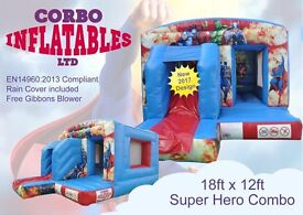 Brand new bouncy castles for sale! Great business for 2017